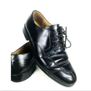 Cole Haan Derby Dress Shoes Black Leather Mens 7